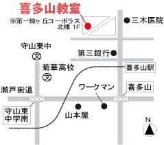 喜多山校-地図